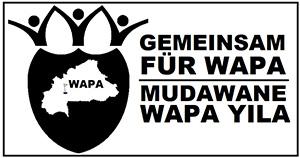Gemeinsam für Wapa · Mudawane Wapa Yila Logo